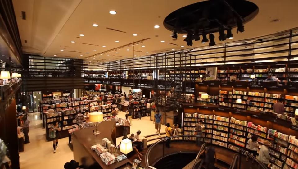 誠品書店,截自Youtube