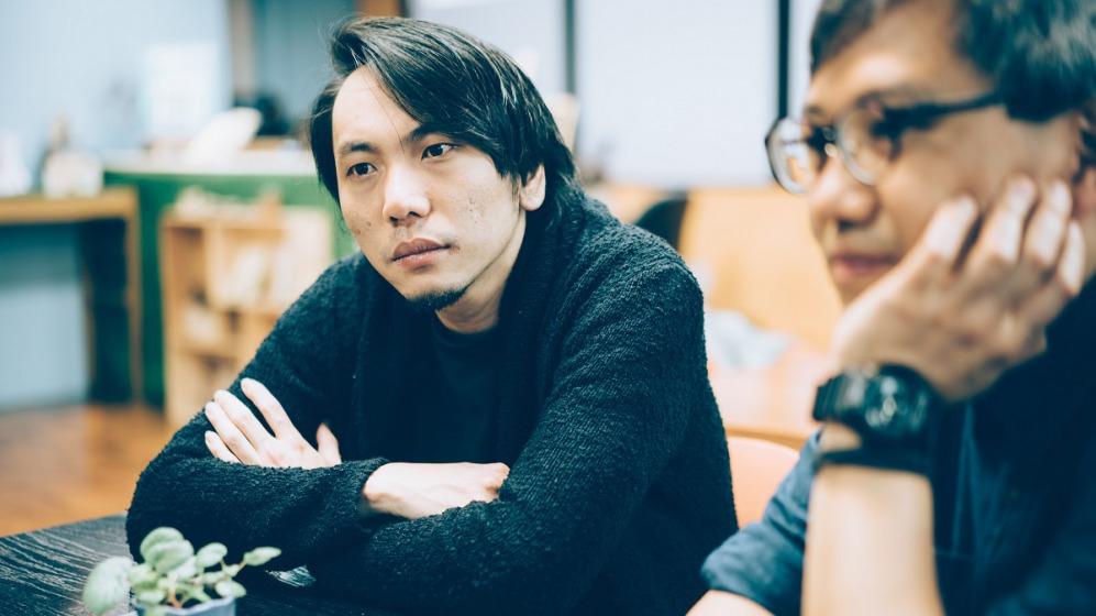 《號外》主編Nico Tang(左)與《Breakazine!》編輯顧問 梁柏堅