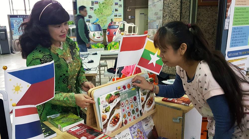 東南亞行動書房(照片:新北市圖提供)