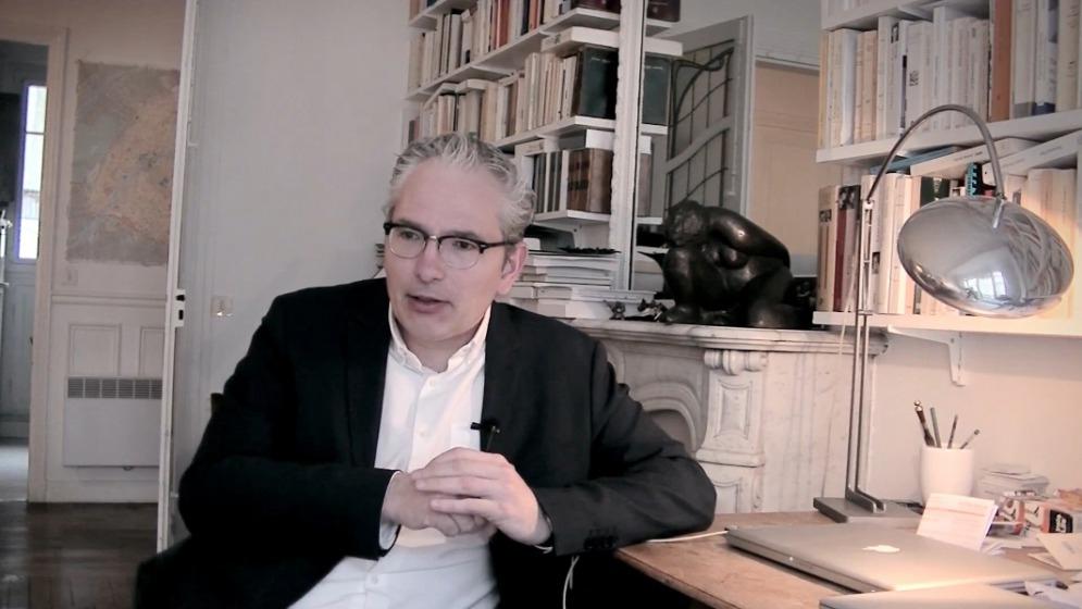 法國《哲學月刊》總編輯馬當.勒葛侯(無境文化提供)